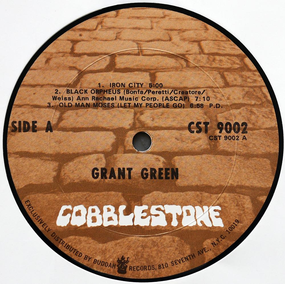 Grant Green - Iron City! (US 1st Pressing) Vinyl rip in 24 Bit/ 96
