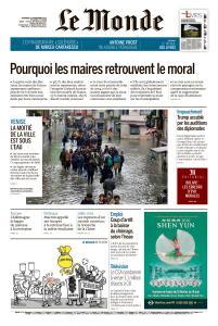 Le Monde du Vendredi 15 Novembre 2019