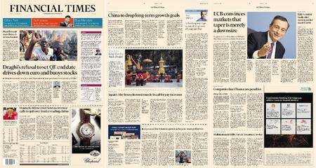 Financial Times Europe – 27 October 2017