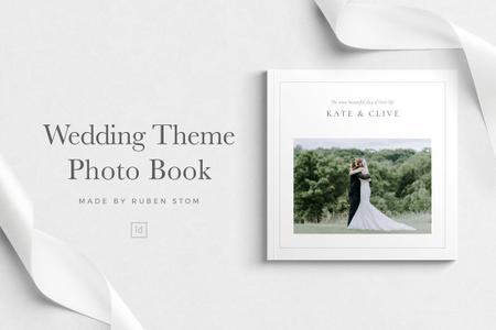 CreativeMarket - Wedding Theme Photo Book 3507600