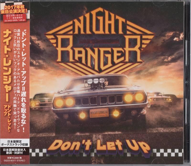Night Ranger - Don't Let Up (2017) Proper