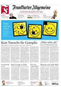 Frankfurter Allgemeine Sonntags Zeitung - 3 Januar 2021