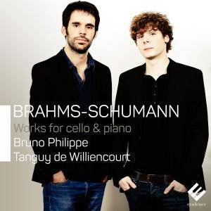 Bruno Philippe & Tanguy de Williencourt - Brahms & Schumann: Works for Cello & Piano (2015) [Official Digital Download 24/192]