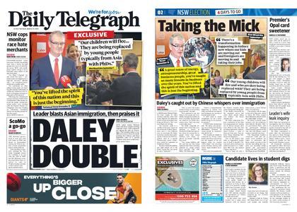 The Daily Telegraph (Sydney) – March 19, 2019