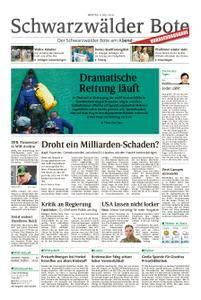 Schwarzwälder Bote Blumberg - 09. Juli 2018