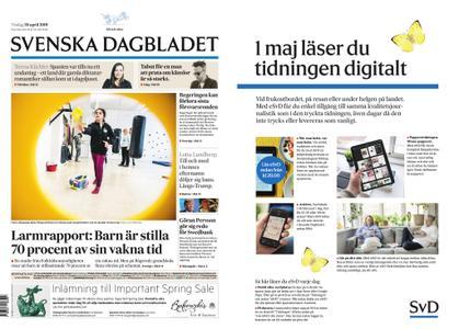 Svenska Dagbladet – 30 april 2019