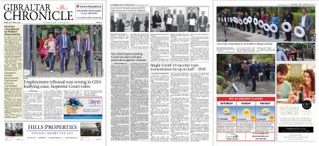 Gibraltar Chronicle – 30 April 2021