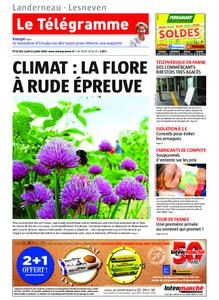 Le Télégramme Landerneau - Lesneven – 11 juillet 2019