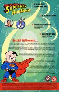 Superman Bugs Bunny Panini 2004 Comic Action 2004 Limited