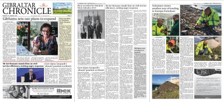 Gibraltar Chronicle – 14 January 2019