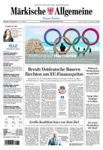 Märkische Allgemeine Dosse Kurier - 06. Februar 2018
