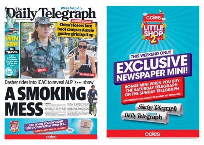 The Daily Telegraph (Sydney) – August 30, 2019
