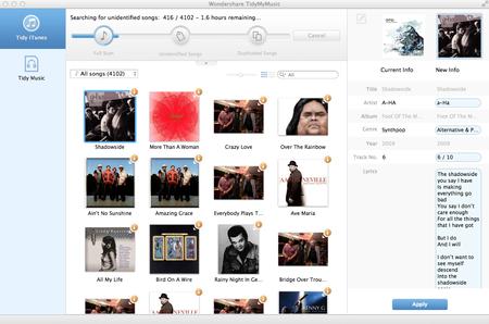 Wondershare TidyMyMusic 1.6.0.3 Multilingual Portable