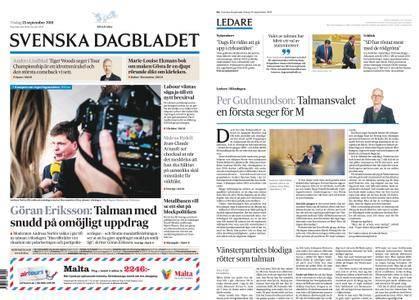 Svenska Dagbladet – 25 september 2018