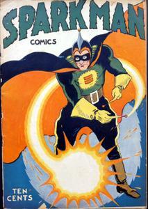 Spark Man Comics 001 (1945 United Features)