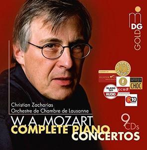 Christian Zacharias, Orchestre de Chambre de Lausanne - Mozart: Complete Piano Concertos [9CDs] (2015)