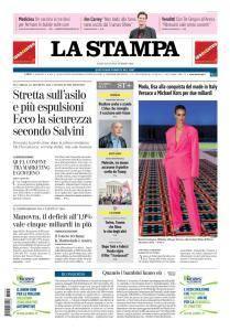 La Stampa Torino Provincia e Canavese - 25 Settembre 2018