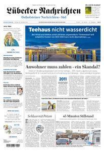 Lübecker Nachrichten Ostholstein Süd - 20. Oktober 2017