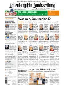 Lauenburgische Landeszeitung - 21. November 2017