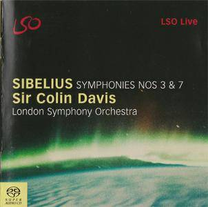 Sibelius - LSO / Sir Colin Davis - Symphonies Nos. 3 & 7 (2004) {Hybrid-SACD // ISO & HiRes FLAC} [RE-UP]