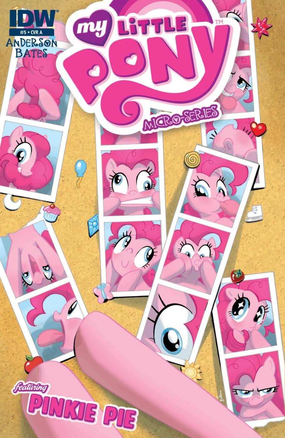 My Little Pony - Micro Series 005 Pinkie Pie 2013 2 covers digital