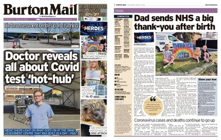Burton Mail – April 22, 2020