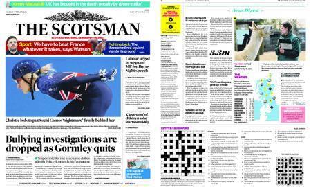 The Scotsman – February 08, 2018