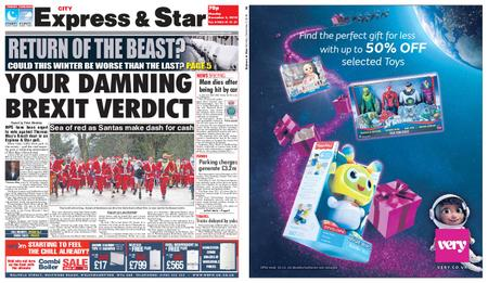 Express and Star City Edition – December 03, 2018