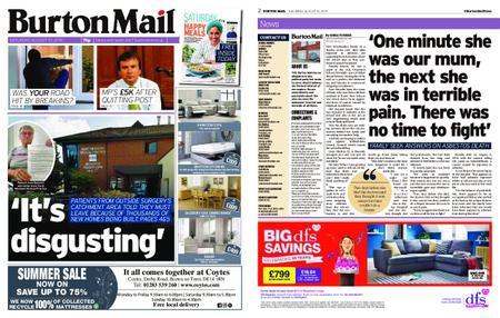 Burton Mail – August 10, 2019