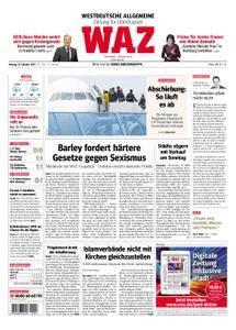 WAZ Westdeutsche Allgemeine Zeitung Oberhausen-Sterkrade - 23. Oktober 2017
