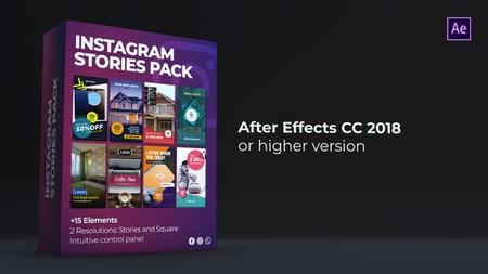 Instagram Stories Pack - Project for After Effects (VideoHive) 23823426