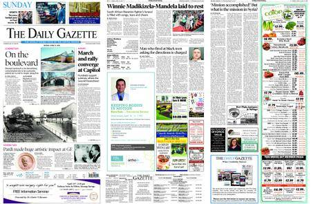 The Daily Gazette – April 15, 2018