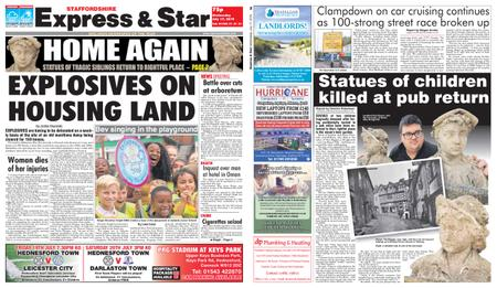 Express and Star Staffordshire Edition – July 17, 2019