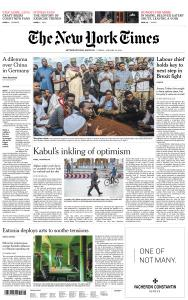 International New York Times - 18 January 2019
