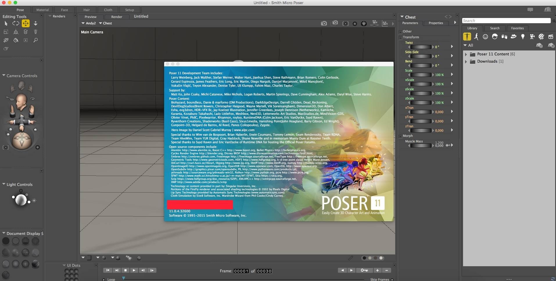 Poser Software