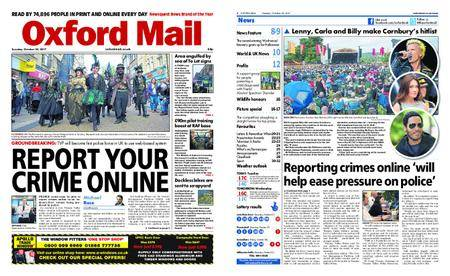 Oxford Mail – October 24, 2017