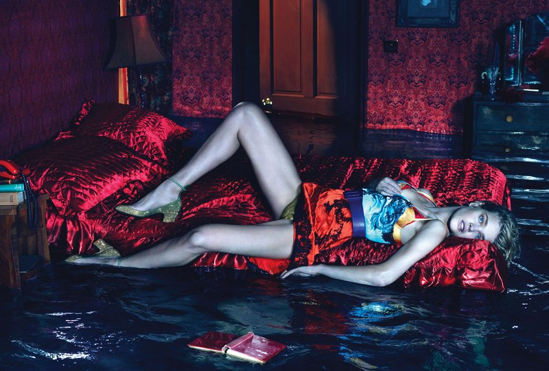 Natalia Vodianova by Mert Alas & Marcus Piggott for W Magazine December 2012