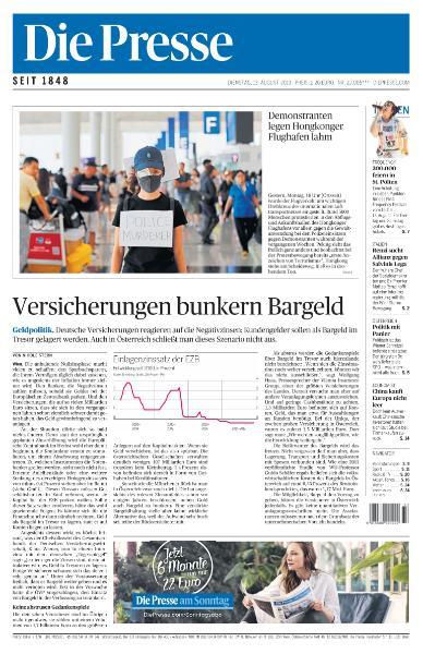 Die Presse - 13 August 2019