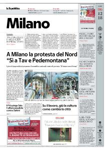 la Repubblica Milano - 6 Dicembre 2018