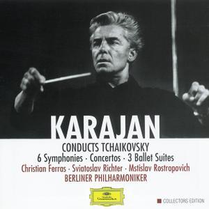 Berliner Philharmoniker, Herbert von Karajan - Karajan conducts Tchaikovsky (8CD) (2001)