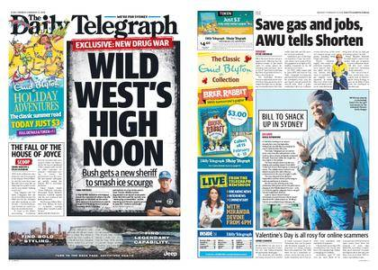 The Daily Telegraph (Sydney) – February 12, 2018