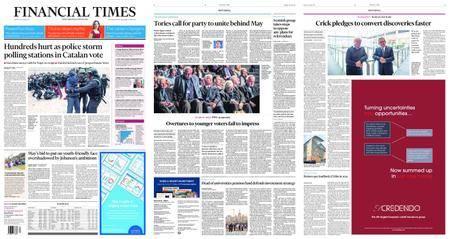 Financial Times UK – October 02, 2017