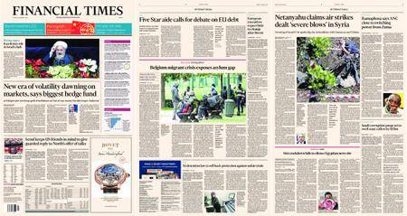 Financial Times Europe – 12 February 2018