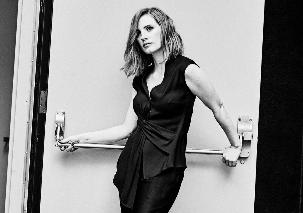 Jessica Chastain by Shayan Asgharnia for Wall Street Journal