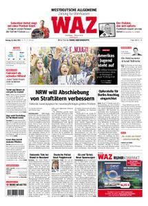 WAZ Westdeutsche Allgemeine Zeitung Oberhausen-Sterkrade - 26. März 2018