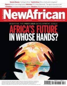 New African - August September 2015