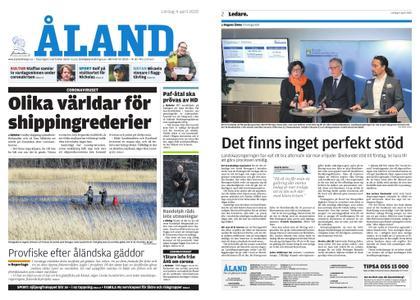 Ålandstidningen – 04 april 2020