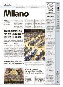 la Repubblica Milano - 28 Novembre 2017