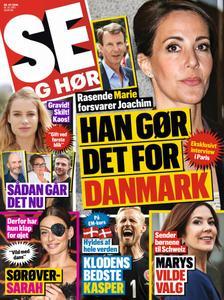 SE og HØR – 16. oktober 2019