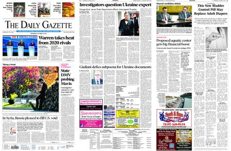 The Daily Gazette – October 16, 2019